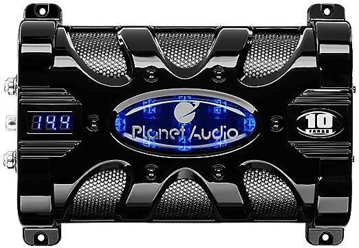 amazon com planet audio pc20f 20 farad capacitor car electronics planet audio pc20f 20 farad capacitor