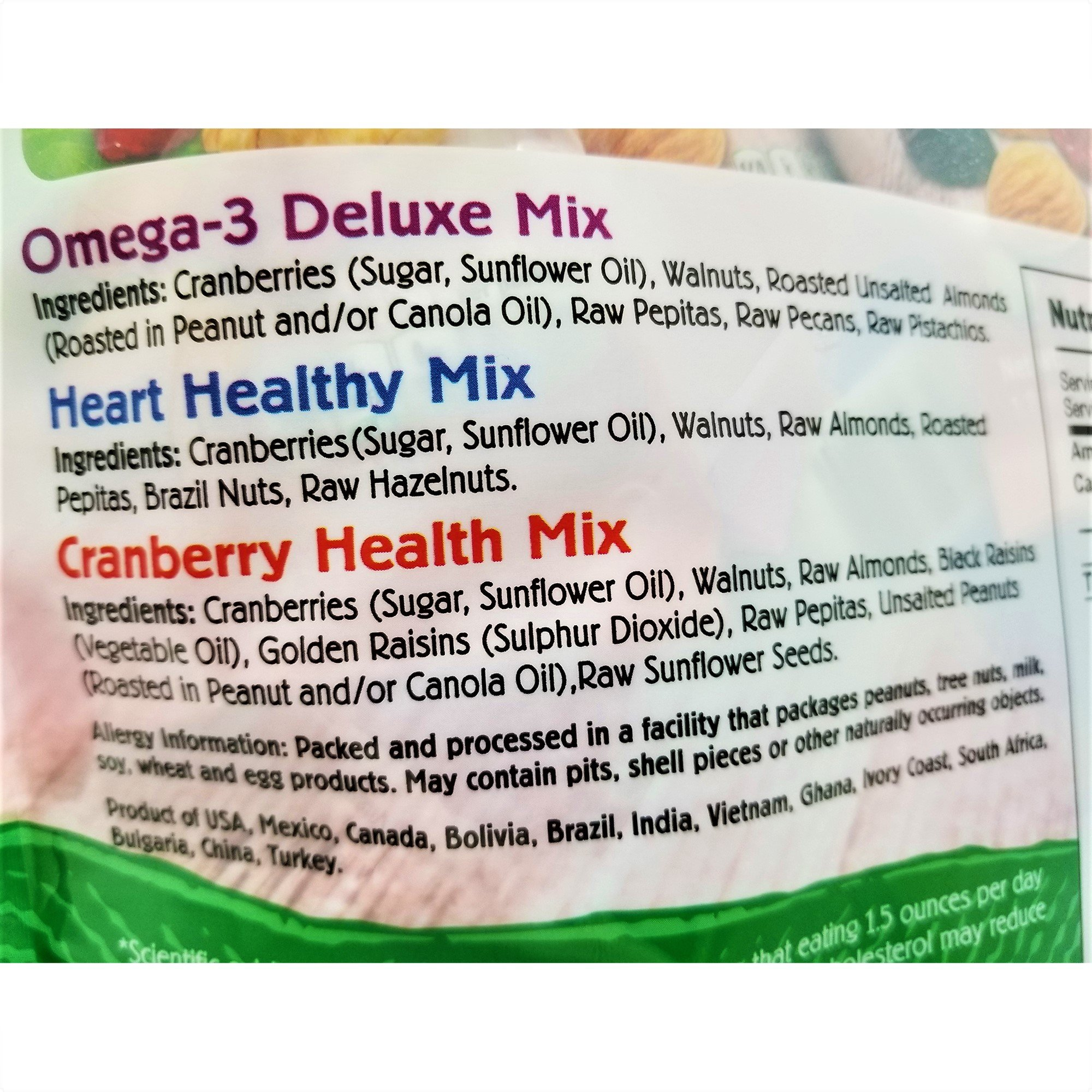 Nature's Garden Healthy Trail Mix Snack Packs 1.2 oz, Pack of 24 (Total 28.8 oz) by Nature's Garden (Image #3)