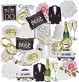 Paper House SelfAdhesive Wedding Die-Cuts (36 Pack)