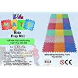 Edz Kidz Interlocking Foam Play Mat Set (18 Piece Pastel)