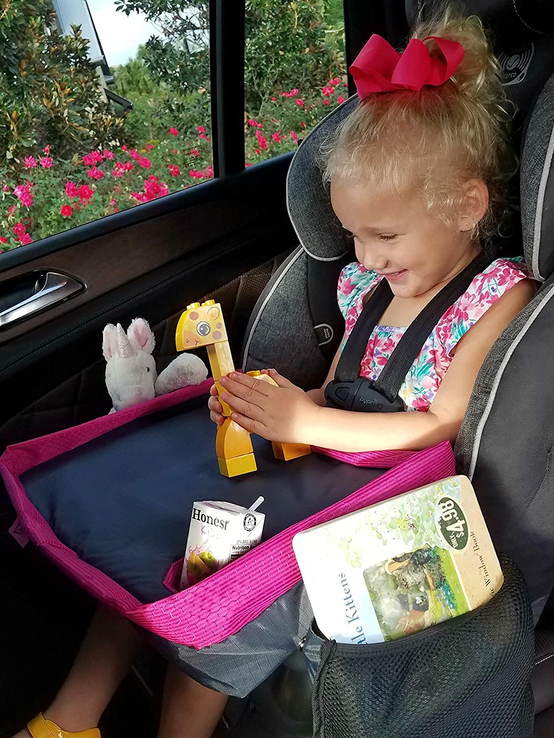 Car Seat Tray Lap Desk For Kids Toddlers
