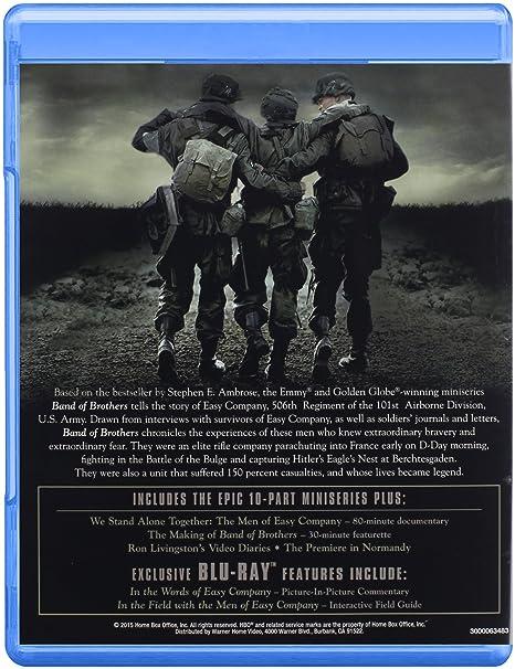 Band Of Brothers Edizione: Stati Uniti Italia Blu-ray: Amazon.es ...