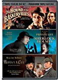Sherlock Holmes Programme Triple (The Hound of the Baskervilles / The Private Life of Sherlock Holmes / Without A Clue)