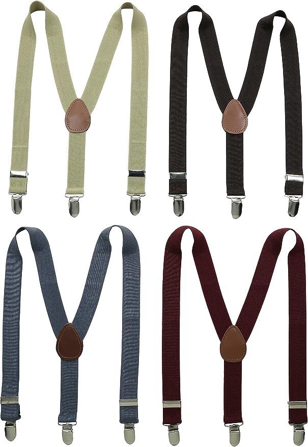 Baby Girls Boys Fashion Adjustable Clip-on Y-Back Child Elastic Suspenders Hot