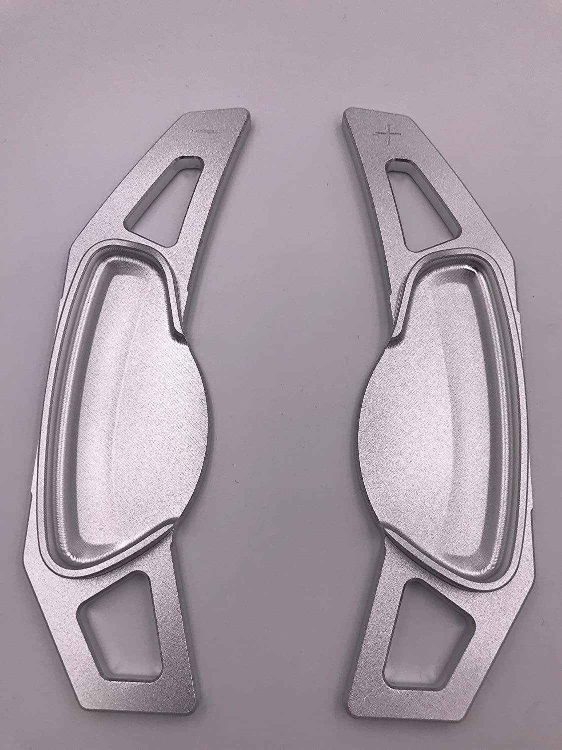 H-Customs DSG Shift Paddle Extensions Paddle Shifter for Smart 451 aluminum anodized silver