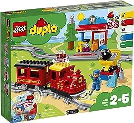 LEGO DUPLO Town - Tren de vapor (10874) Juego para bebes