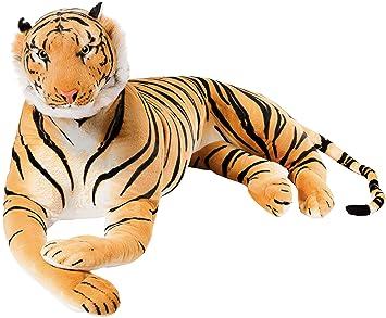 BRUBAKER Gigante Peluche Tigre de Color Marrón de 150 cm