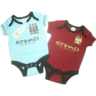 Brecrest Babywear - Body - Bébé (garçon) 0 à 24 mois bleu bleu/rouge Nouveau-né