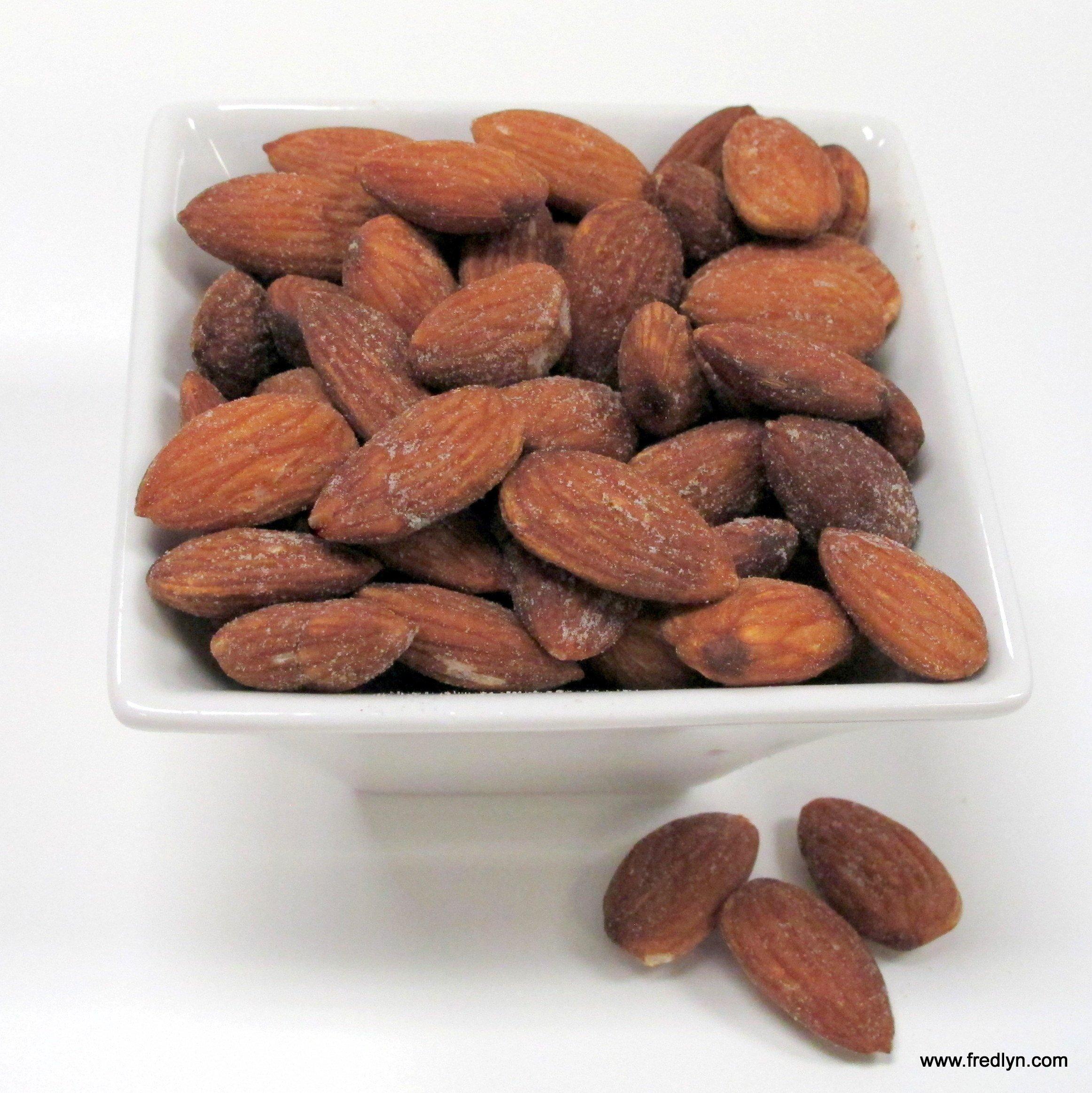 Roasted Salted Almonds, 5 Lb. Bulk Bag