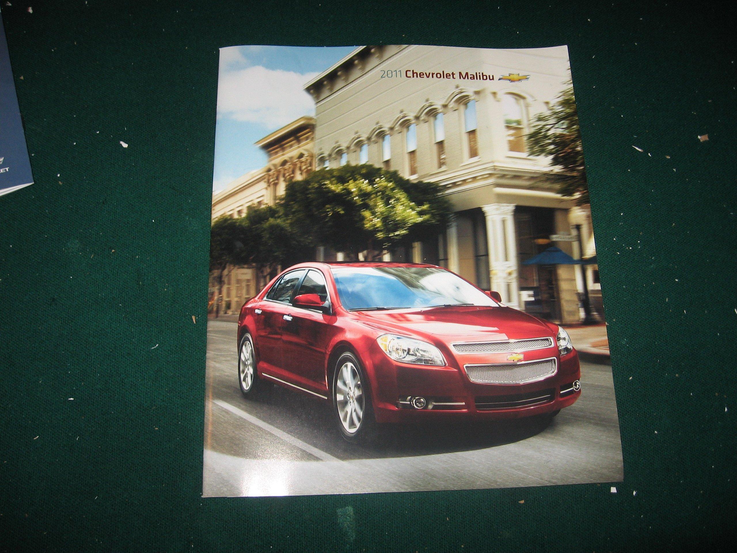 2011 Chevy Malibu For Sale >> 2011 Chevy Malibu Sales Brochure Ls Lt Ltz Chevrolet