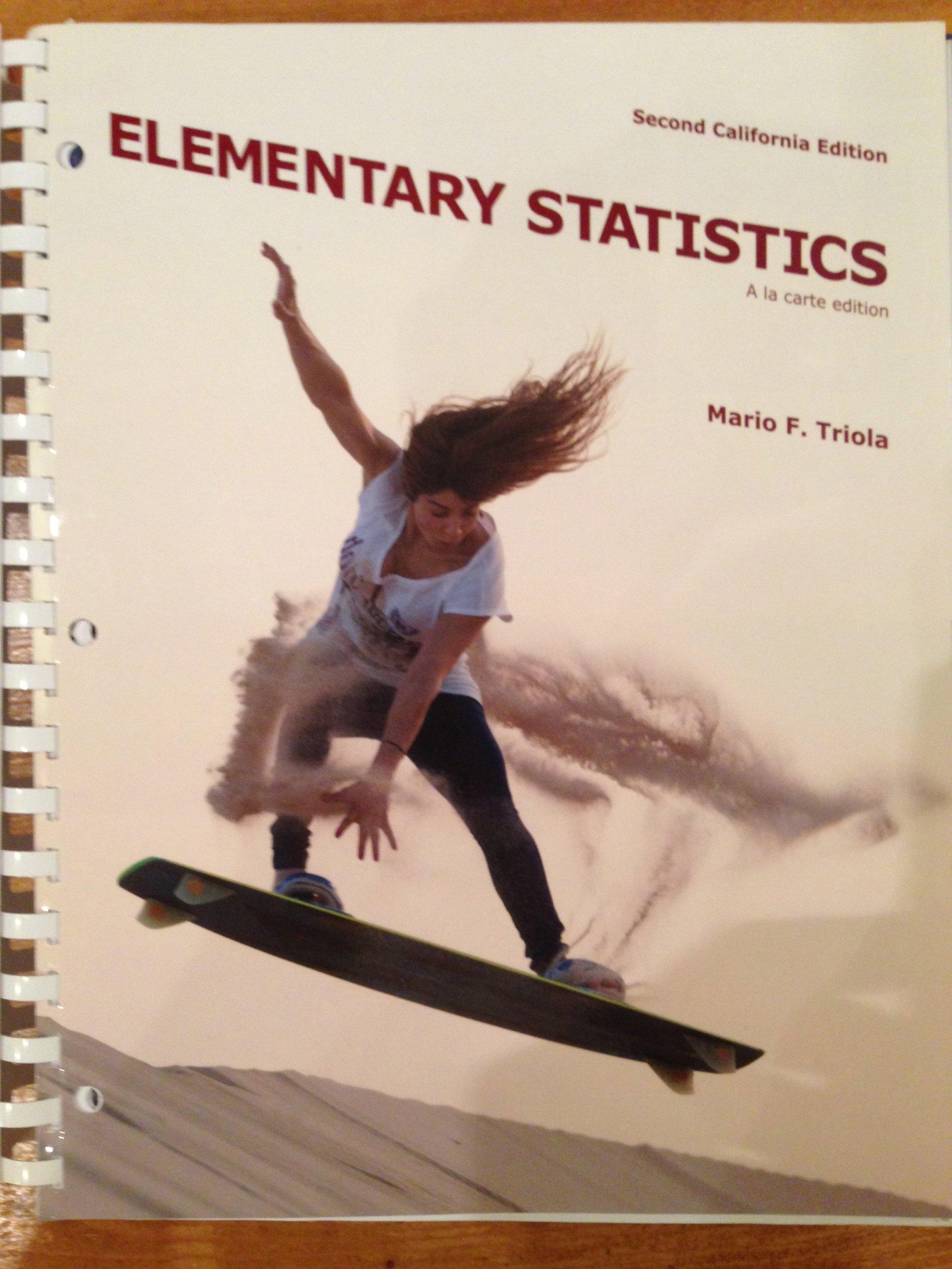 Elementary statistics mario triola pdf dolapgnetband elementary statistics second california edition mario f triola fandeluxe Images