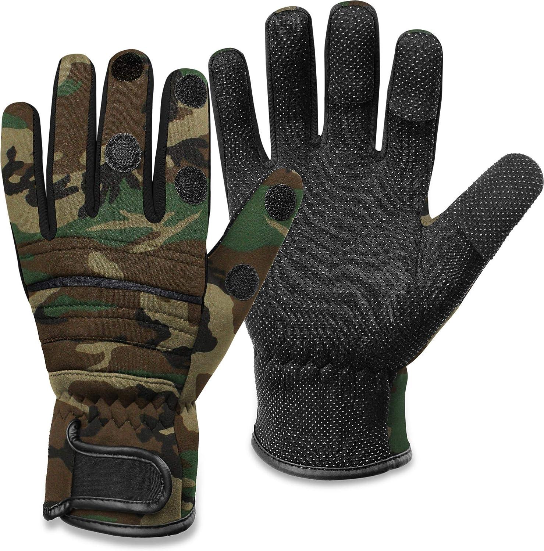 Super Warm Größe XL Behr Neopren Angler Handschuhe
