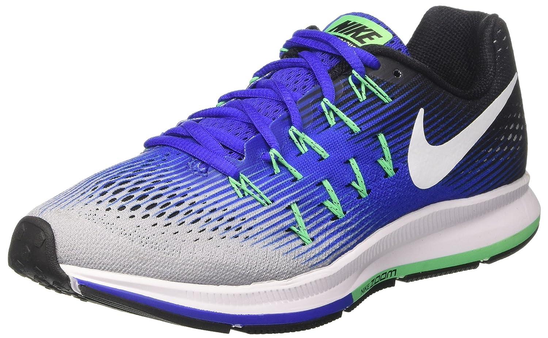 Nike Herren Air Zoom Pegasus 33 Laufschuhe, Weiszlig;, 8.5 EU  42 EU|Mehrfarbig (Wolf Grey/White/Cool Grey/Black)