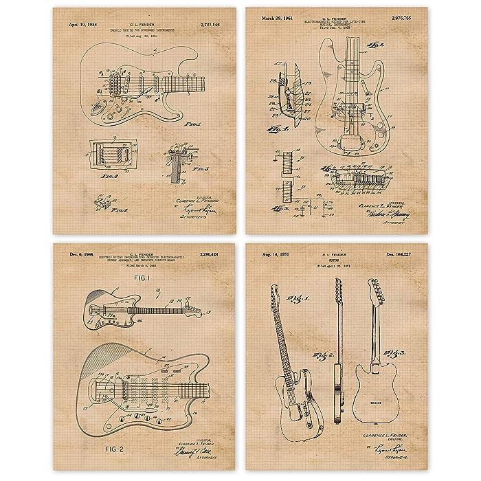 Top 10 Vintage Music Wall Decor