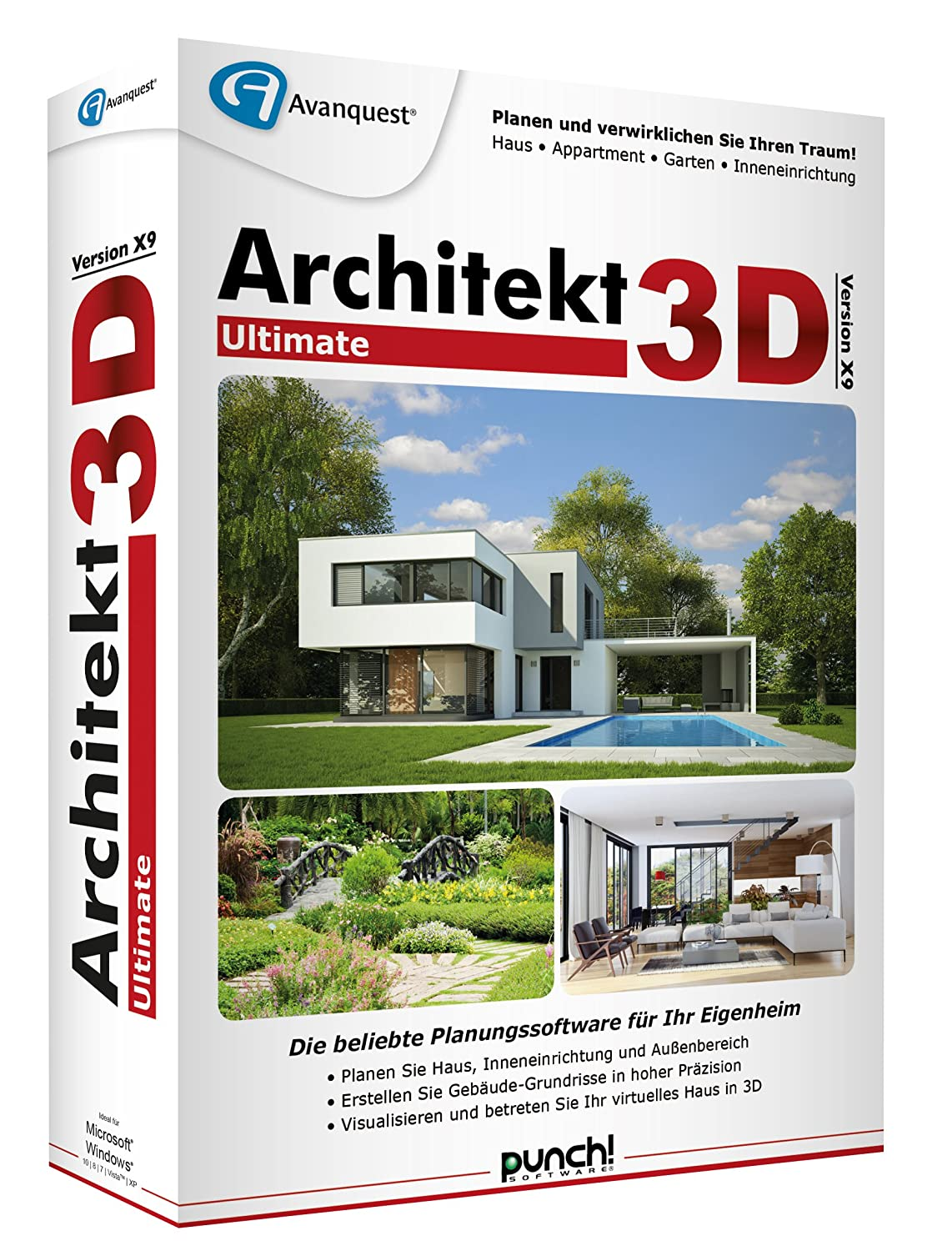 Architekt 3D X9 Ultimate: Amazon.de: Software