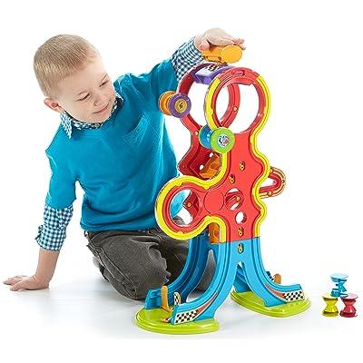 Fisher-Price Spinnyos Racin' Chasin' Super Slide: Toys & Games