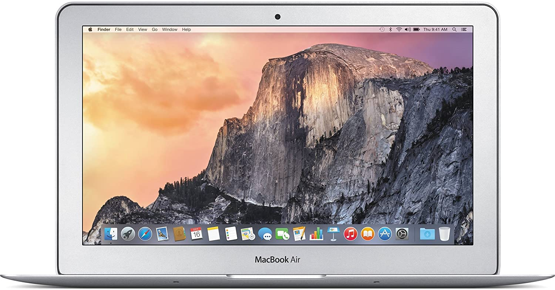 Apple MacBook Air MJVM2LL/A Intel Core i5-5250U X2 1.6GHz 4GB 128GB, Silver (Renewed)