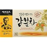 Persimmon Leaf Tea 1.0g X 40 Tea Bags, VitaminC weight loss Korean Herb Leaves