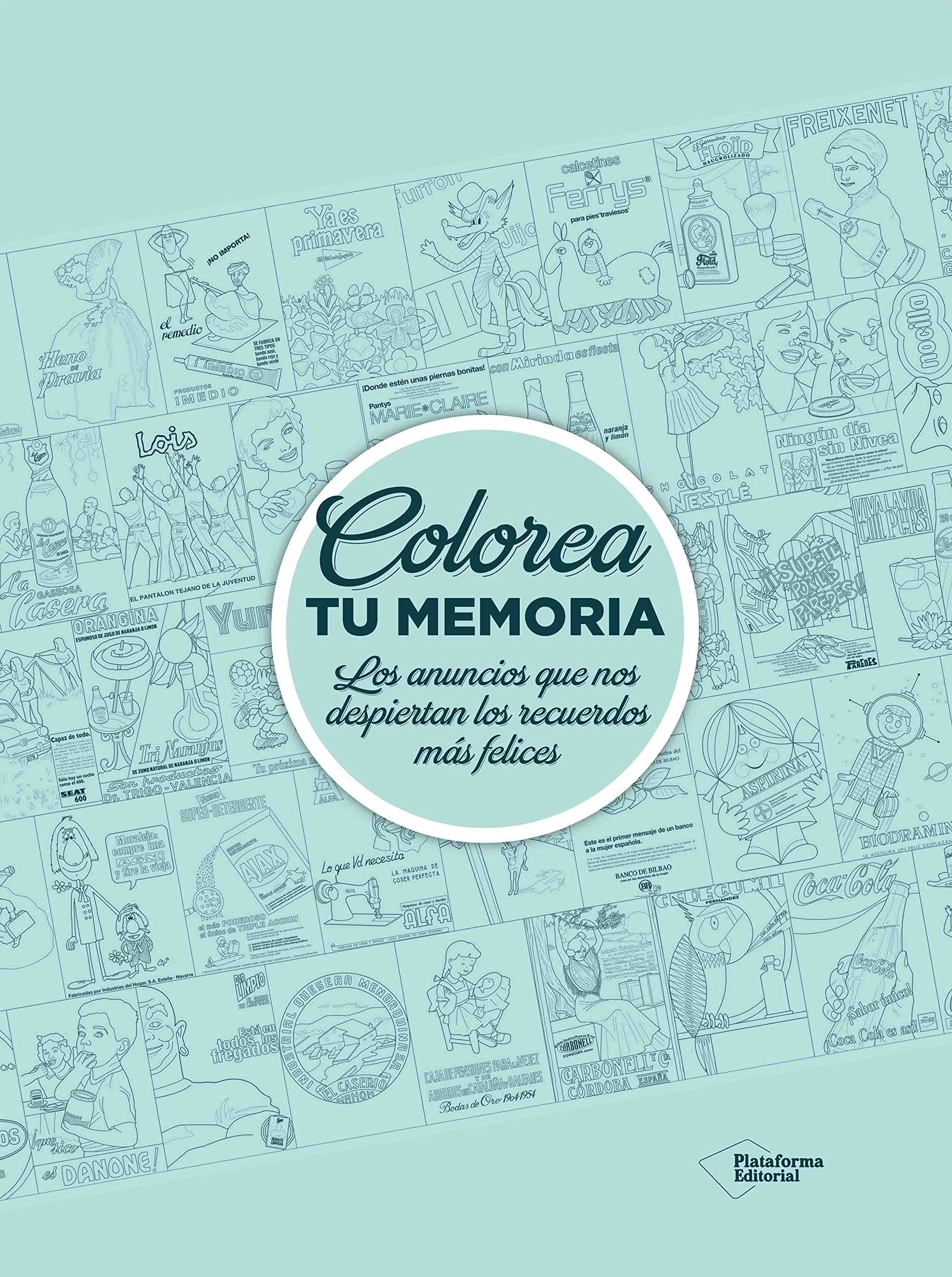 Colorea tu memoria: Plataforma Editorial: 9788416820481: Amazon.com: Books