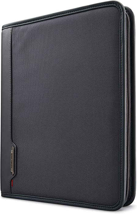 Samsonite Xenon Business Zip Portfolio, Steel Grey, One Size
