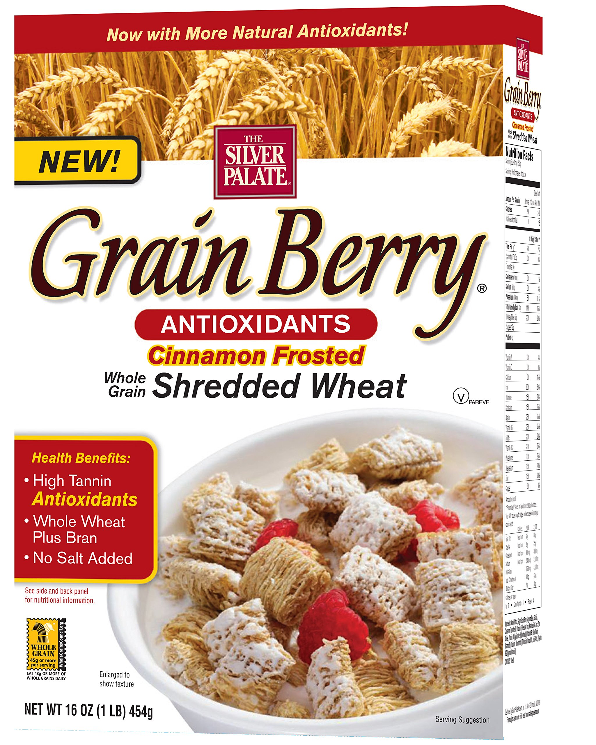 Amazon.com: Grain Berry Cereal, BRAN FLAKES, (The Silver