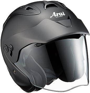 MZ-F 57-58cm アライ フラットブラックM ジェット (ARAI) バイクヘルメット