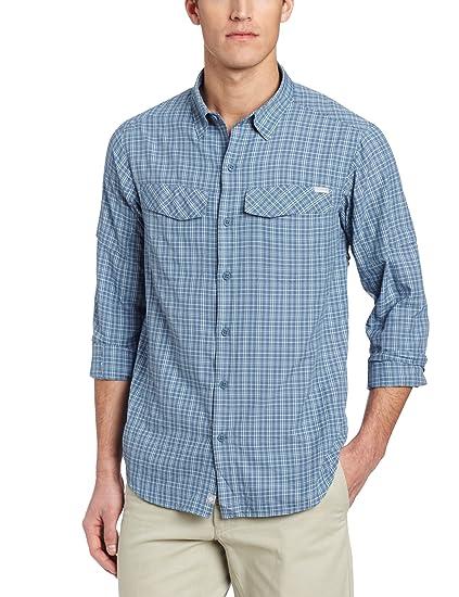 d19bd73b6 Columbia Men's Silver Ridge Plaid Long Sleeve Shirt, Mountain Small Plaid,  Small