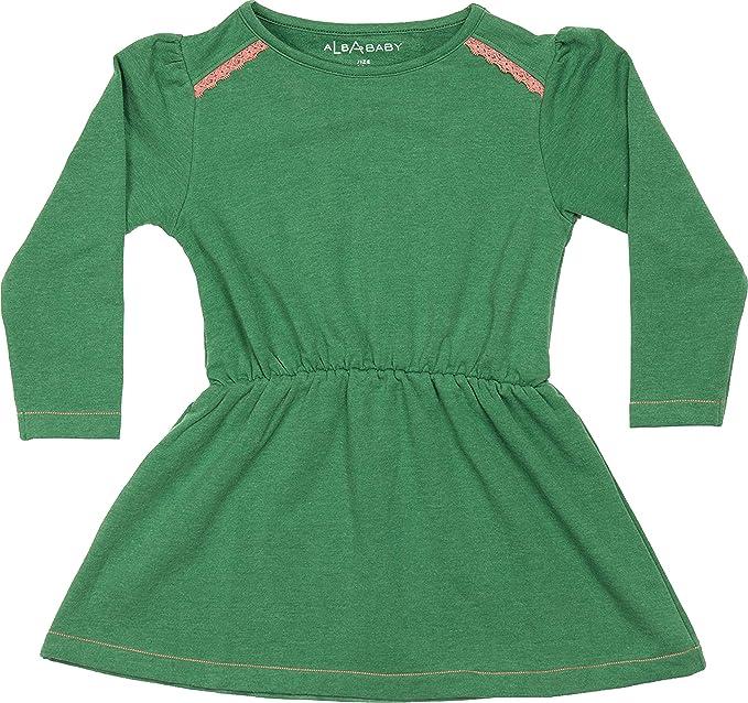Albababy Girl Kleid Denise Juniper Melange  Amazon.de  Bekleidung 7b8dc04eaa