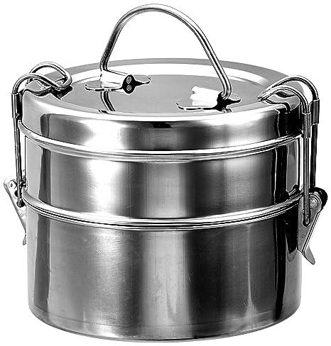 Amazon.com: King Wire Tiffin de alimentos de acero ...