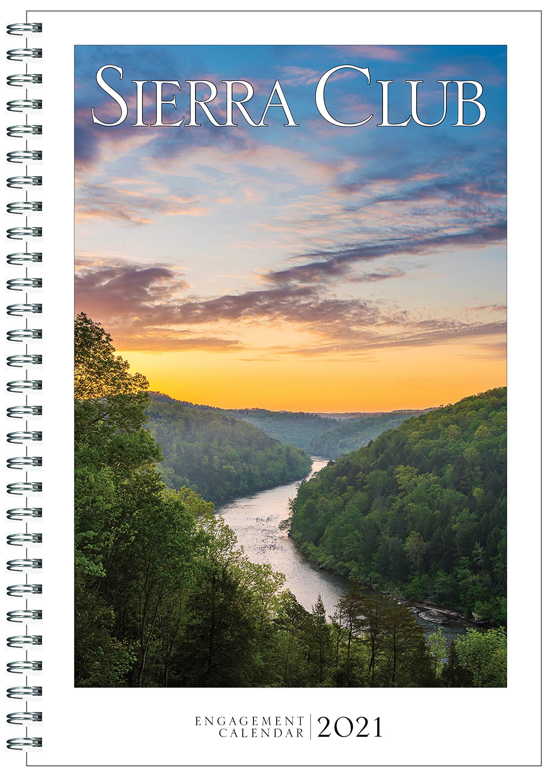 2021 Engagement Calendar Sierra Club Engagement Calendar 2021: Sierra Club: 9781578052288