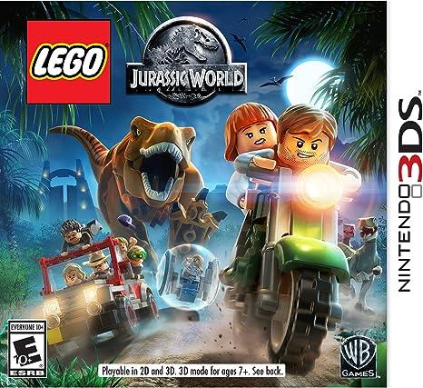 Amazon Com Lego Jurassic World Nintendo 3ds Whv Games Video Games