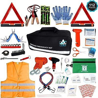 INEX Life Roadside Emergency Car Kit