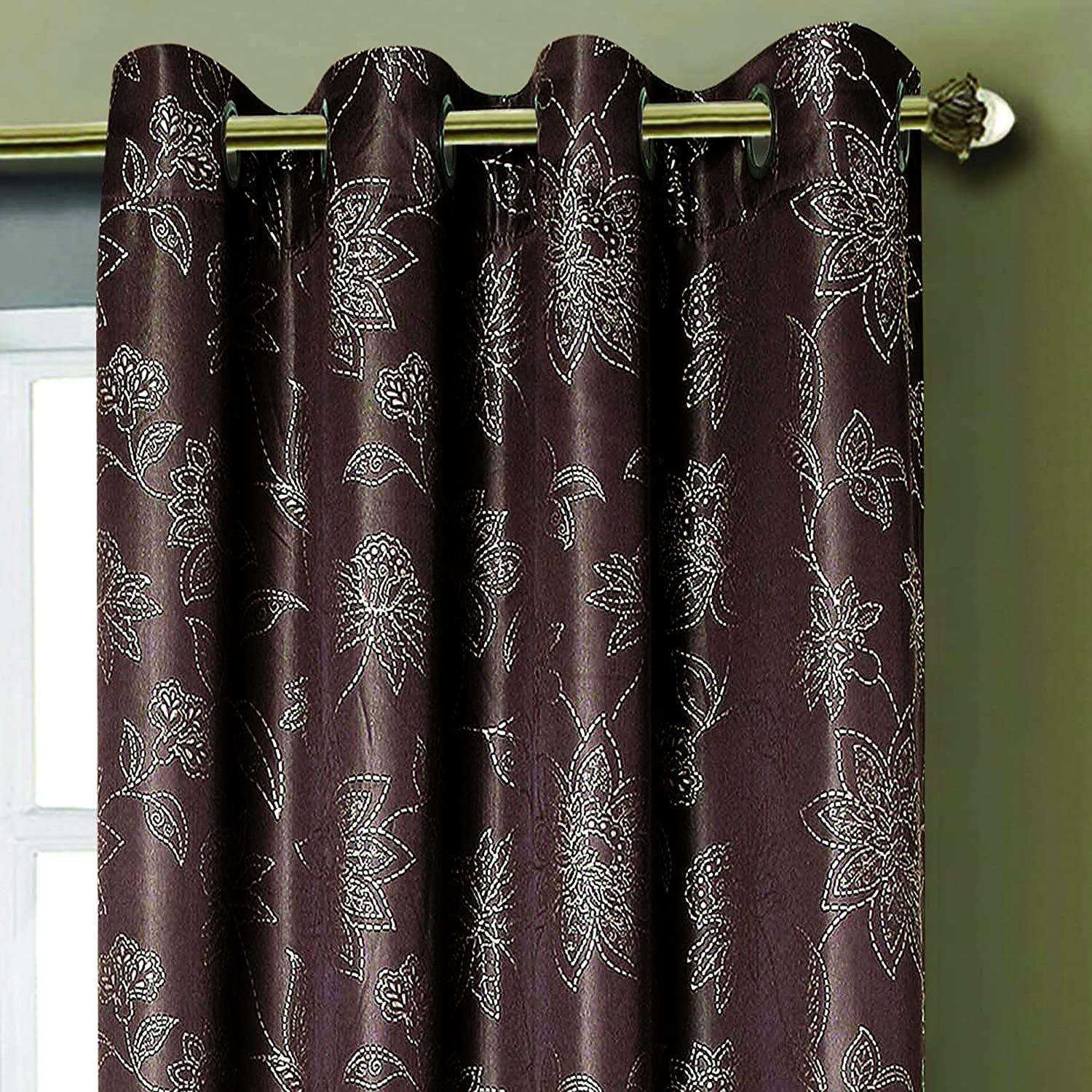 Window Elements Cortina Danica Con Ojales Extraanchos Jacquard