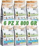 Tr. Fit.3 Puppy & Junior Mini Salmon & Rice No Gluten Gr 800