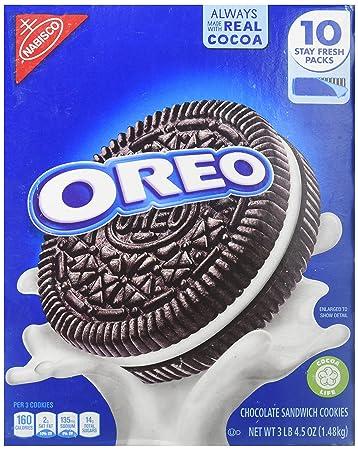 amazon com nabisco oreo cookies america favorite cookie 3 lb 4 5