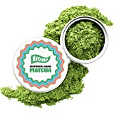 MatchaBar Ceremonial Grade Matcha Green Tea Powder | Antioxidants, Energy, & Amino Acids | Premium, First Harvest from Kagoshima, Japan | 30g Tin = 30 Servings