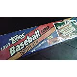 1993 Topps Baseball Complete Factory Set. Includes the Derek Jeter Rookie Card.