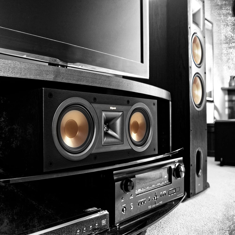 Klipsch R 25c Center Channel Speaker Home Audio Theater Wiring Speakers