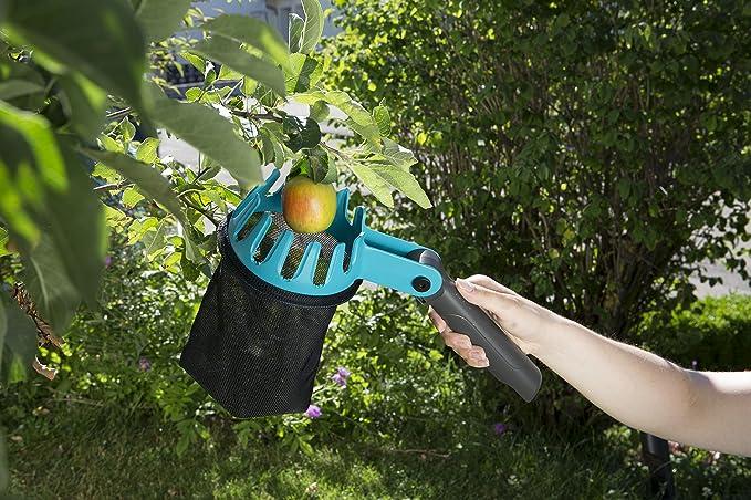 Gardena combisystem-Obstpfl/ücker: Praktischer Erntehelfer mit verstellbarem Handgriff passend zu allen combisystem-Stielen 3115-20