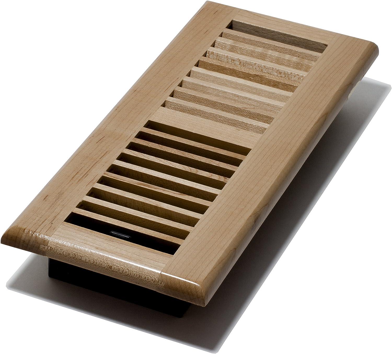Decor Grates WML412-N Floor Register, 4-Inch by 12-Inch