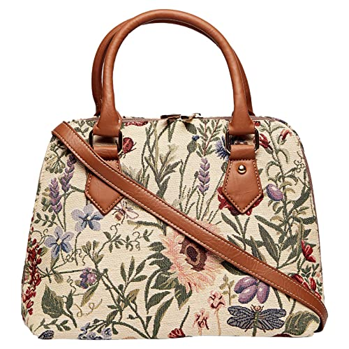 492df38816 Handbag Queen Morning Garden -Ladies Handbags Shoulder Bags   Lady 29  Collection  - Convertible  Amazon.in  Shoes   Handbags