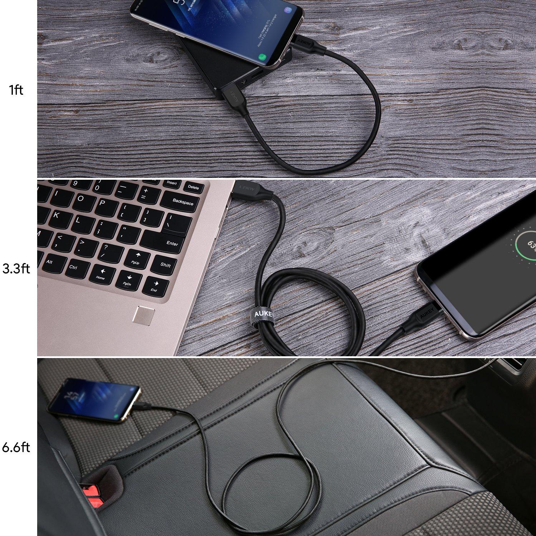 AUKEY USB C Ladekabel auf USB 3.0 A USB Typ C: Amazon.de: Computer ...