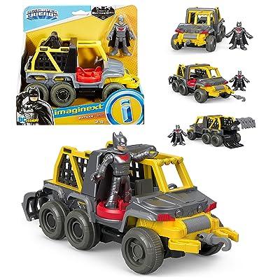Imaginext DC Super Friends Streets of Gotham City - Batman & 6x6 - Includes 6-Wheeler Vehicle and Batman Figure: Toys & Games