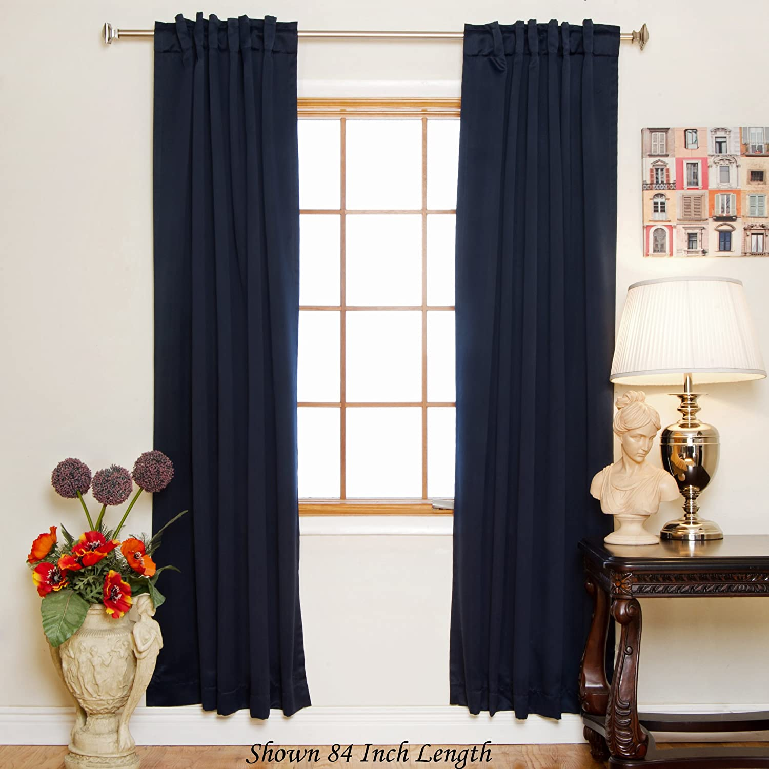 inch for wide blackout room curtains in blue pair sapphire panels velvet navy floral length grommet living soild royal home thermal from item draperies drapes curtain embossed