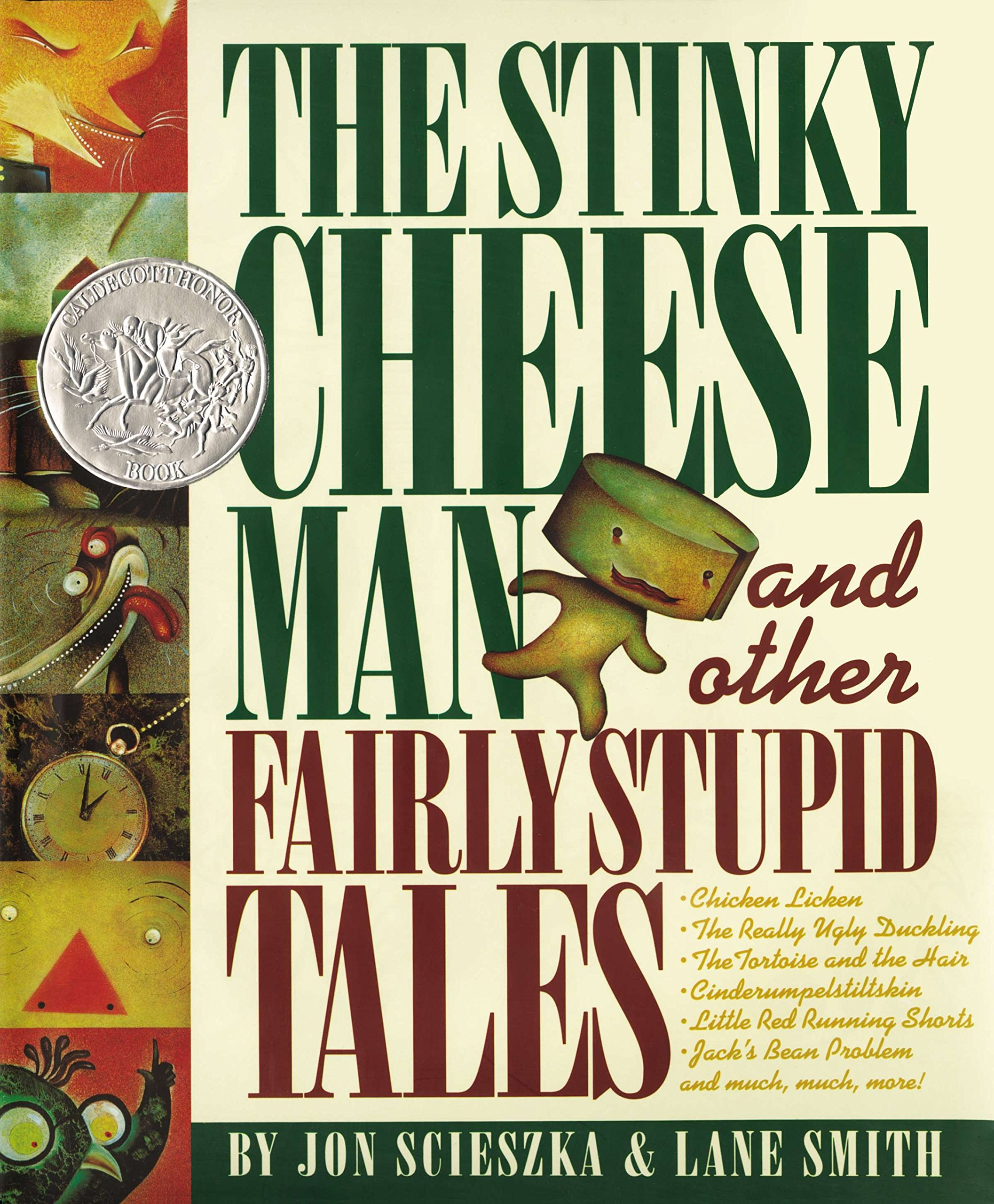 Image result for stinky cheese man book