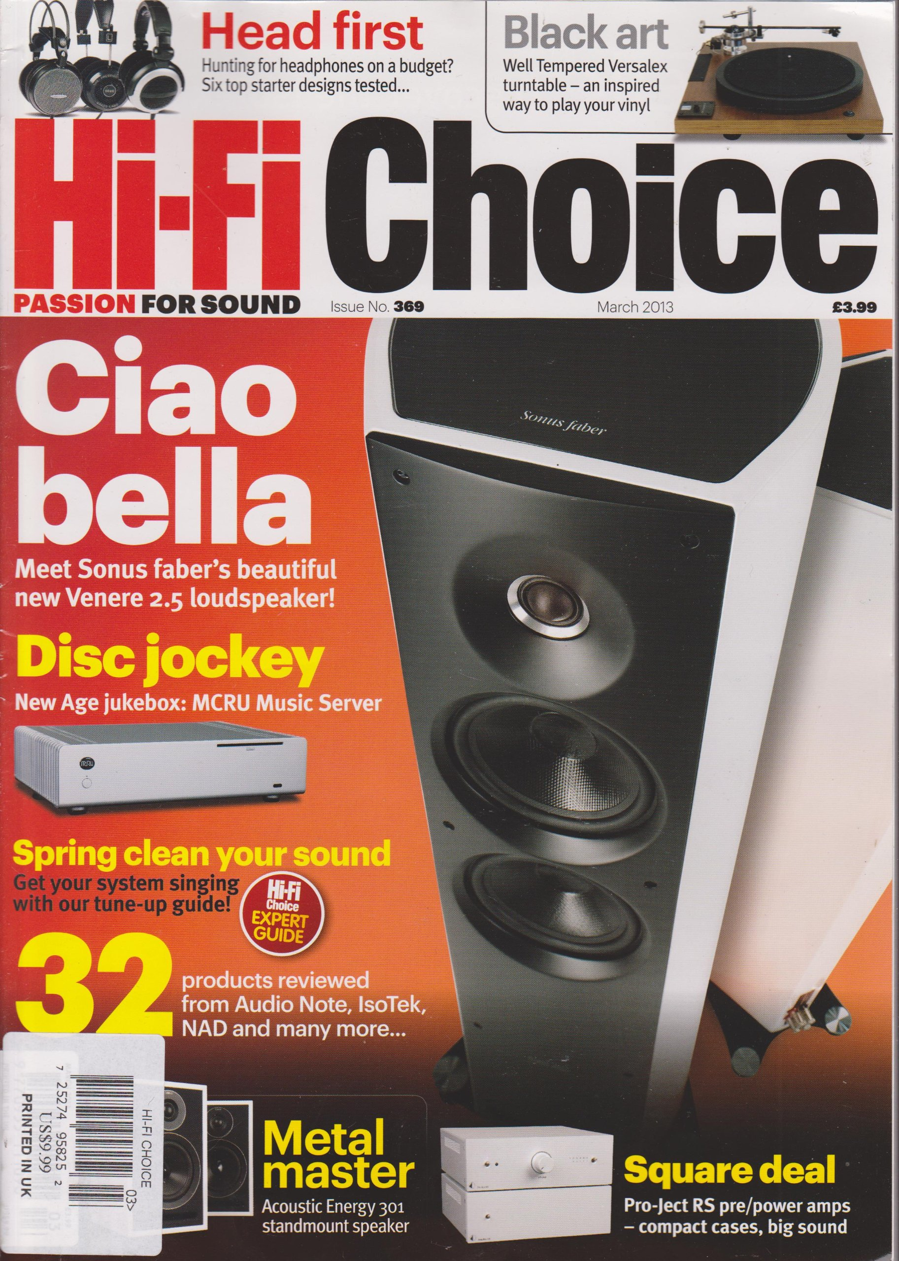 Download Hi-Fi Choice Magazine Number 369 March 2013 pdf epub
