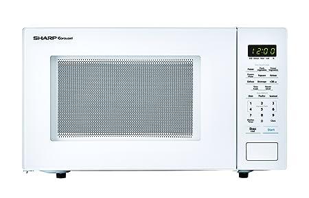 Sharp 1.000 W Countertop microondas horno, 1.1 pies cúbicos ...