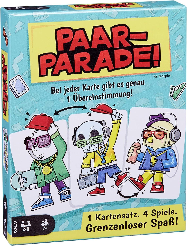 Mattel Games- Parade Cartas, sociedades, Juego Familiar. (GTH20) , color/modelo surtido: Amazon.es: Juguetes y juegos