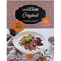 Granola baja en carbohidratos de CarbZone | Cereales