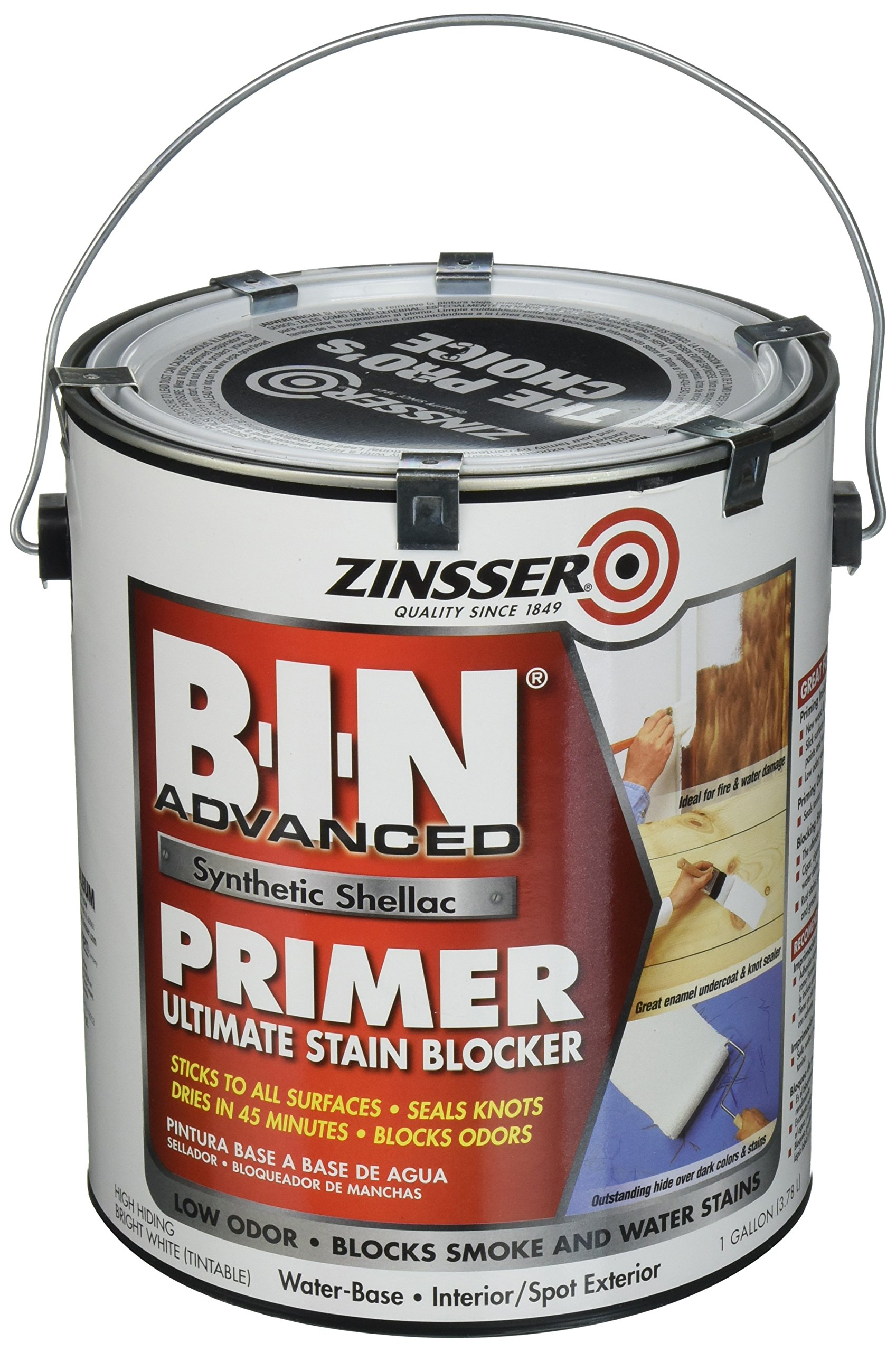 Rust-Oleum Corporation 270976 Advanced Synthetic Shellac Primer, 1-Gallon, White